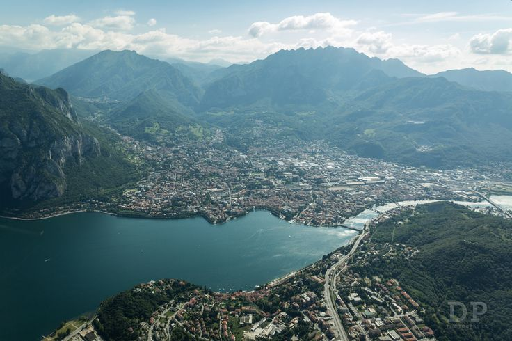 https://flic.kr/p/VseBH7 | At The Foot Of The Mountains | A flight over Lecco lake and the city. What an amazing point of view!