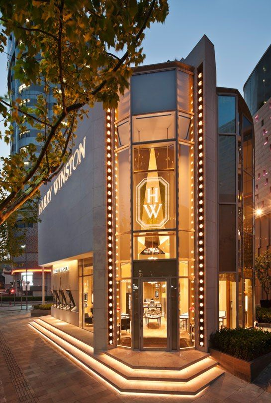 Harry Winston's Shanghai Boutique : News, Culture + Travel : Architectural Digest