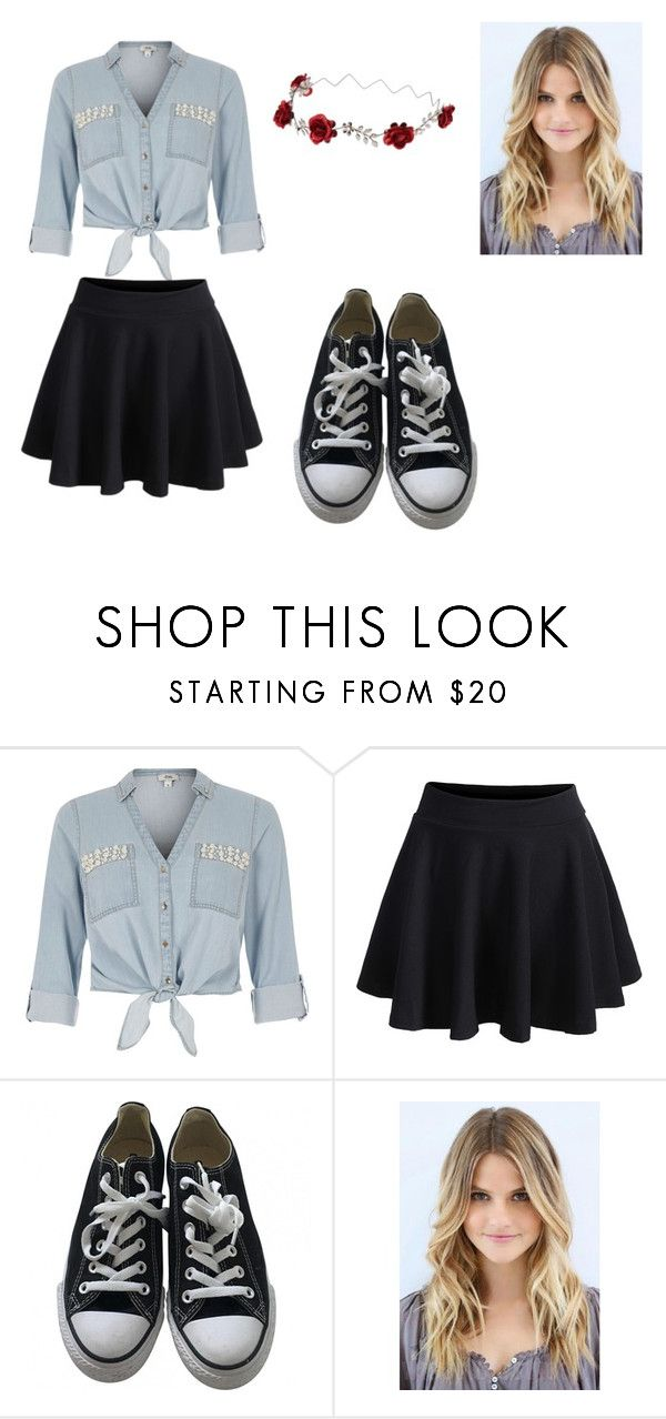 """Cusual Outfits"" by dariamiruna on Polyvore featuring River Island and Converse"