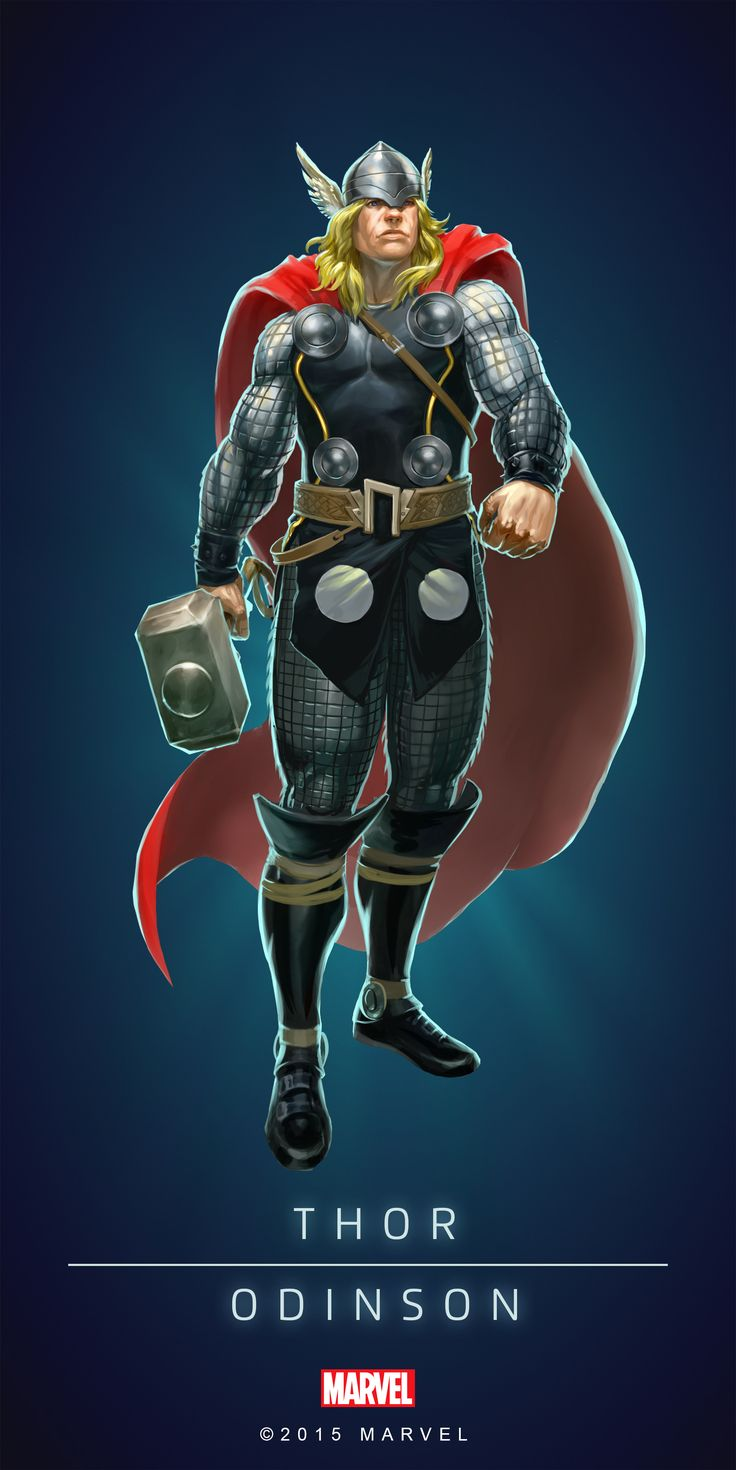 #Thor #Fan #Art. (THOR - ODINSON - MODERN IN: MARVEL'S PUZZLE QUEST!) BY: AMADEUS CHO! (THE * 5 * STÅR * ÅWARD * OF: * AW YEAH, IT'S MAJOR ÅWESOMENESS!!!™)[THANK Ü 4 PINNING<·><]<©>ÅÅÅ+(OB4E)(IT'S THE MOST ADDICTING GAME ON THE PLANET, YOU HAVE BEEN WARNED!!!)