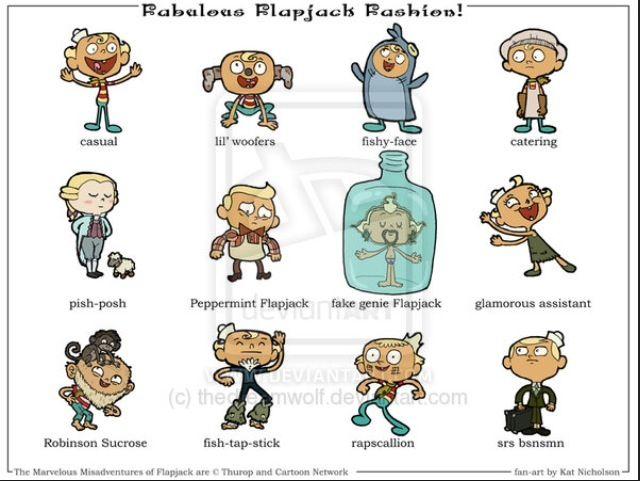 flapjack cartoon nude - The Forms of Flapjack