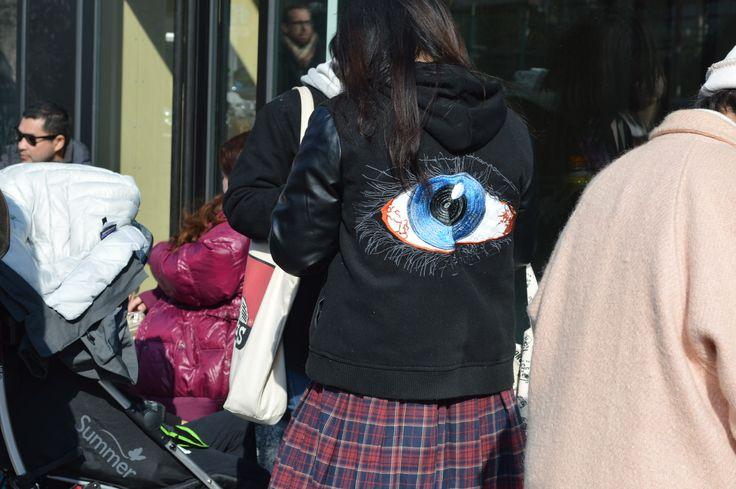 Eye embroidery