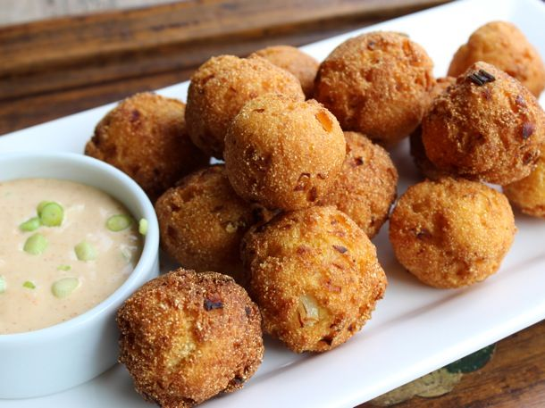 Buttermilk Hushpuppies Recipe With Images Hush Puppies Recipe Recipes Food