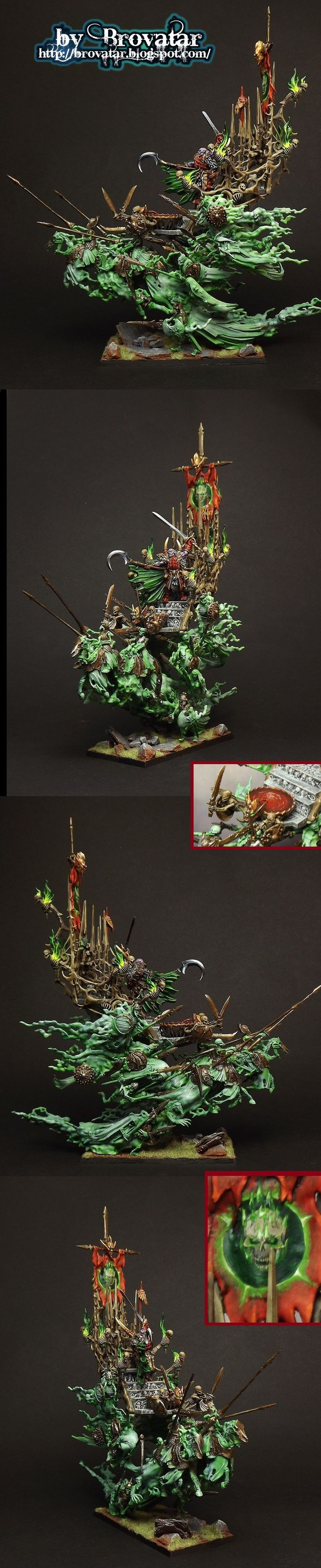 vampirecounts Coven Throne, Warhammer Age of Sigmar Grand Alliance Death Undead