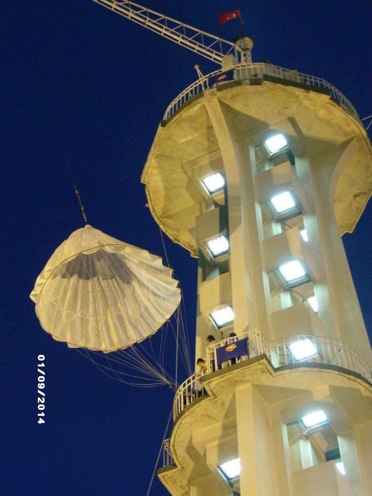 Fuar, Kültürpark, paraşüt kulesi