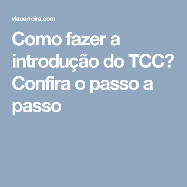Como fazer a introdução do TCC? Confira o passo a passo