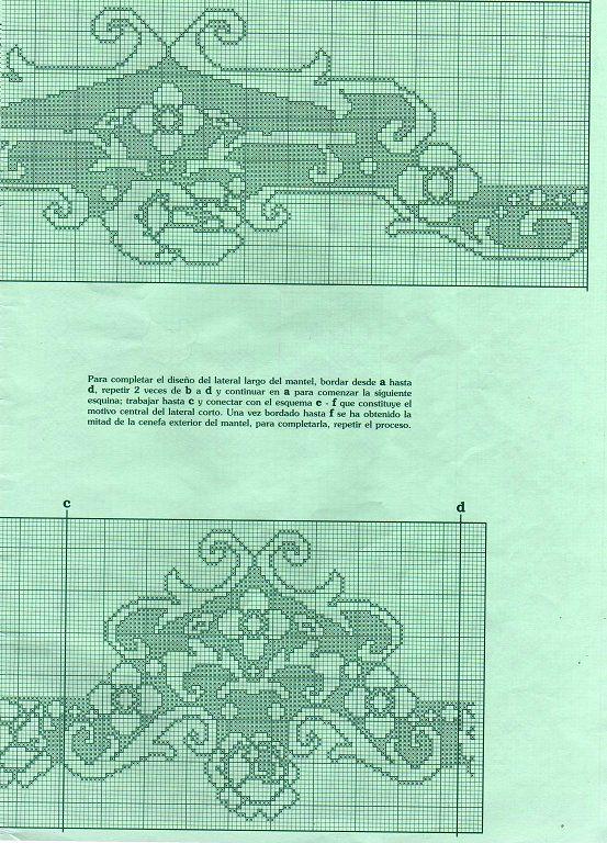 Solo Patrones Punto Cruz (pág. 1539) | Aprender manualidades es facilisimo.com