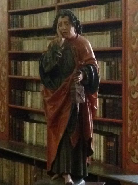 Jan Evangelist at Theological Hall of Strahov Library