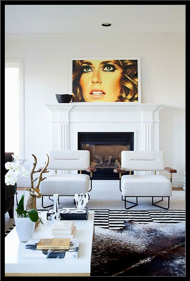 stylish living rooms photos