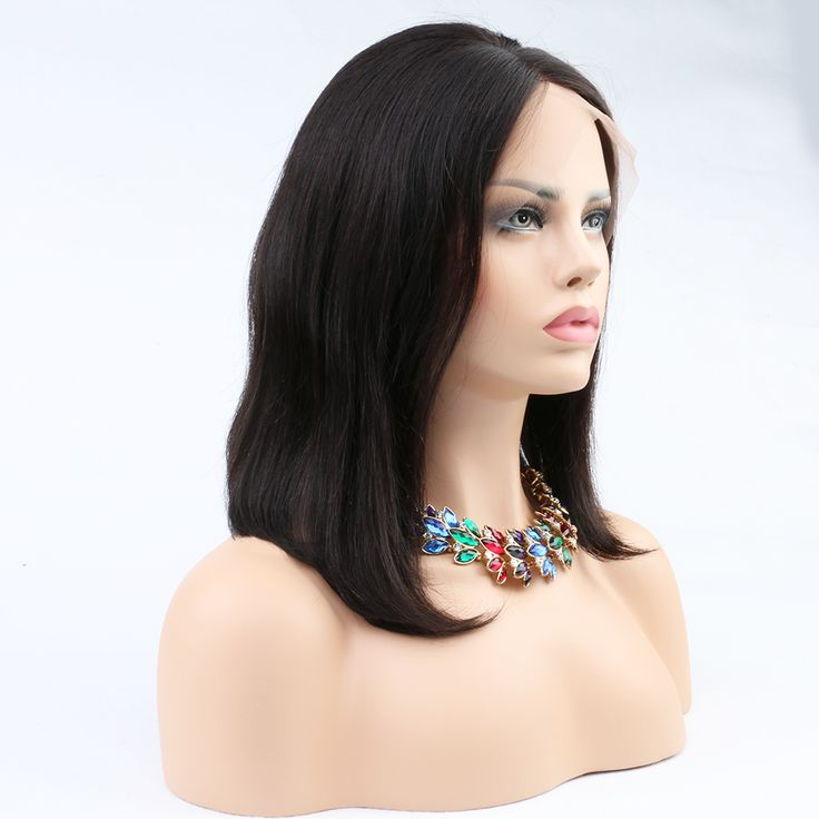 8A Peruvian Virgin Human Hair Bob Wigs Unprocessed Straight Front/Full Lace Wigs Bob Styled Human Hair Top Quality Glueless