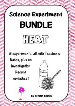 Science Experiment Bundle - Heat
