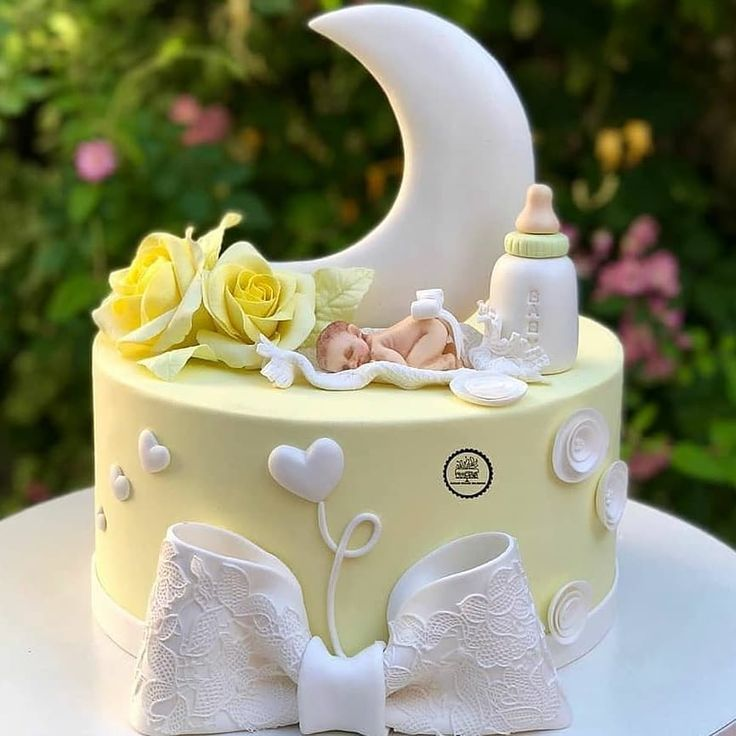 Картинка торт для новорожденного