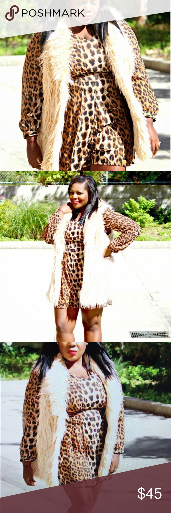 INC FAUX SHAGGY FUR VEST I counted and I own 6 fur vest!! Slowly liquidating my closet. I'm a blogger and often times, only worn these items 1-2x. Size XL from the brand International Concepts or INC purchased from Macy's INC International Concepts Jackets & Coats Vests