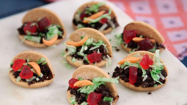 Mini Taco Cookies