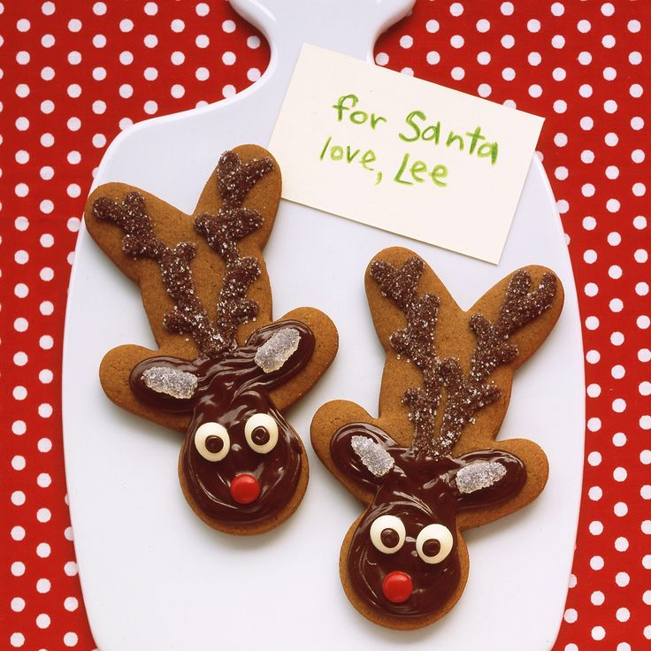 This recipe can be used to make the edible puzzles and reindeer cookies.