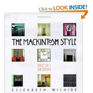 A book about one of the people who influence me, Charles Rennie Mackintosh.