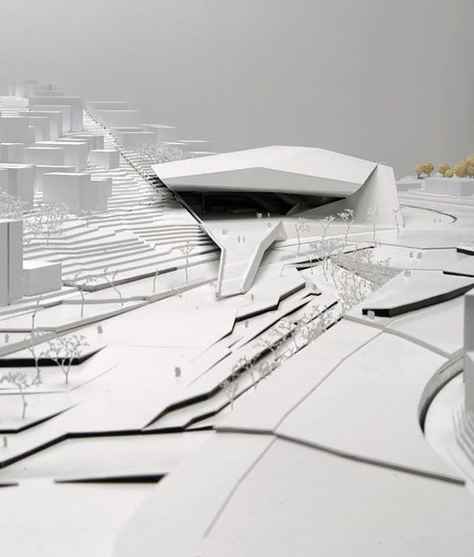Bustler: Zaha Hadid & Delugan Meissl Assossiated Architects Win 'Darat King Abdullah II' Competition in Amman