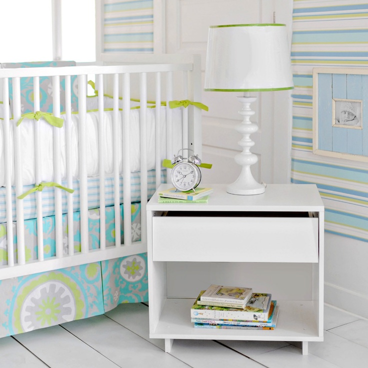 Summer Breeze Crib Skirt by New Arrivals Inc. - RosenberryRooms.com