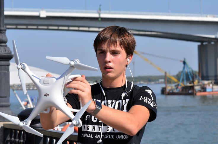 Перед стартом - Беспилотный летательный аппарат