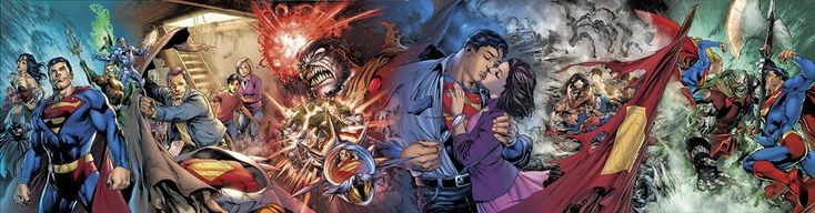 All Six Brian Michael Bendis Man of Steel Covers in Color