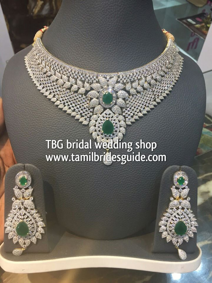 Every girl wishes to wear Diamonds for her wedding and TBG helps in fulfilling your dreams. Check out for more designs in http://tamilbridesguide.com/