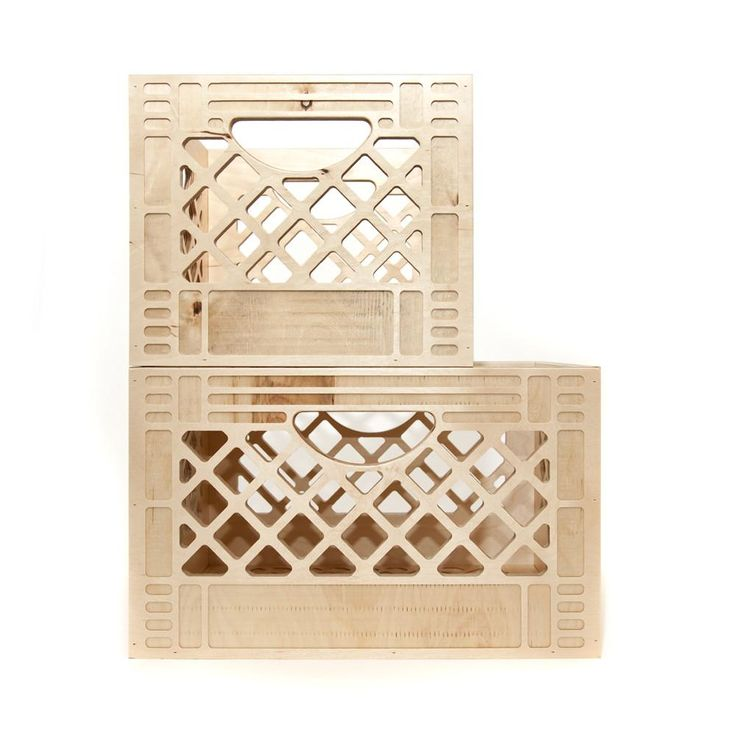 Best 20 milk crates ideas on pinterest for Where can i buy wooden milk crates