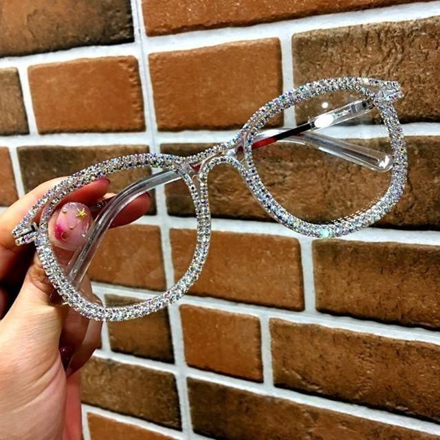 5576007a7b669 Glasses - Vintage Gold Rhinestone Eyewear – Fomoloo