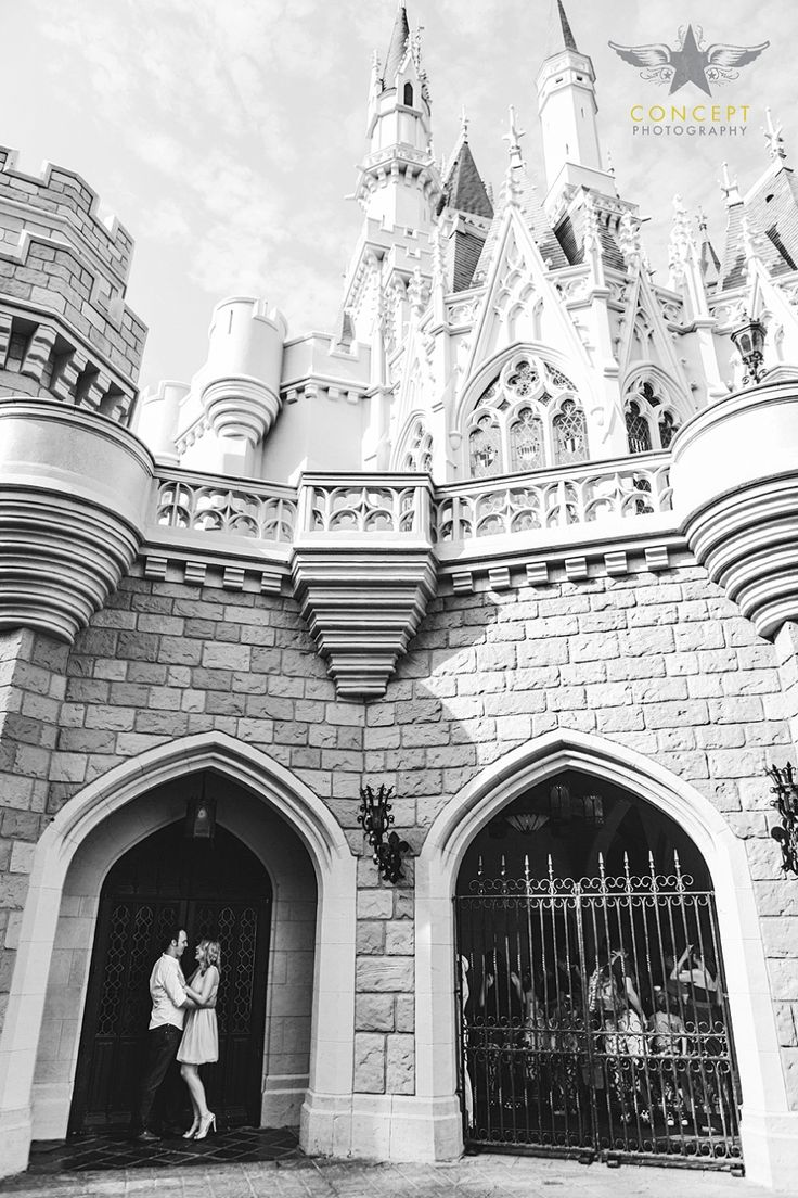 Tatyana + Rory / Magic Kingdom Engagement Shoot » Concept Photography
