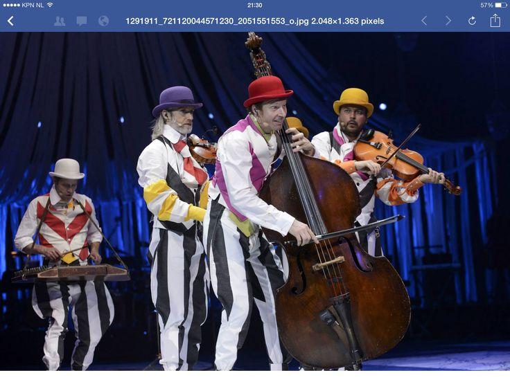 Wëreldbänd in Cirque Stiletto 2