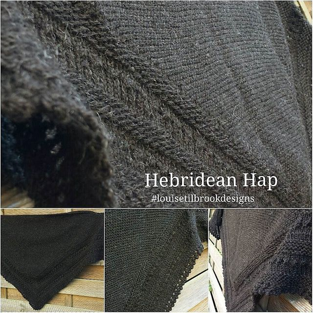 Hebridean Hap by Louise Tilbrook