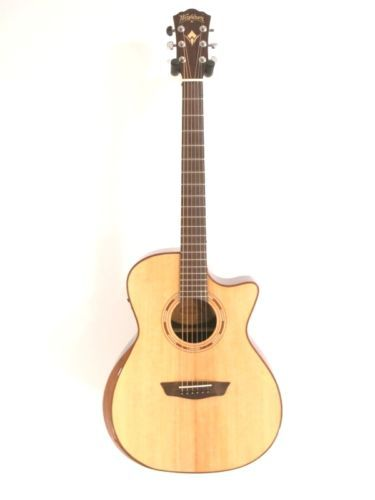 #Guitars #Musical Washburn Comfort Series WCG20SCE Solid Top Acoustic Electric Guitar - Blem #B727 #Christmas #Gifts