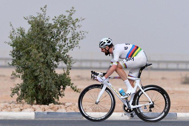Tour of Qatar, stage 3: 1st Terpstra, 2nd Cancellara, 3rd Wiggins