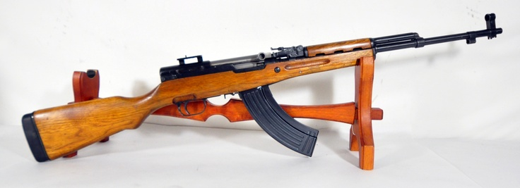 """Norinco SKS 7.62x39 with Wood Stock 20.5"""". Semi-auto rifle from Nornico, for 7.62x39 rounds. With classic wooden stock. Serial on stock matches receiver. Includes scope mount. 20.5"""" barrel. $299.00"""