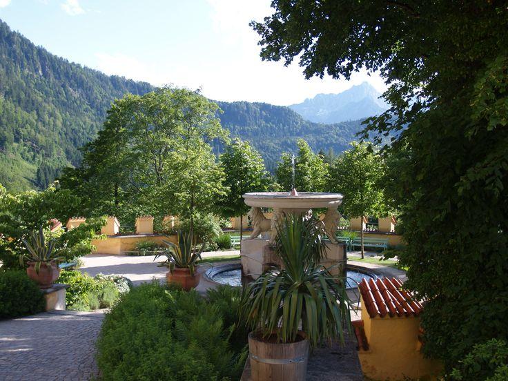 Fabulous Der herrliche Garten des Schloss Hohenschwangau l d zu einer Besichtigung der M rchenschl sser im