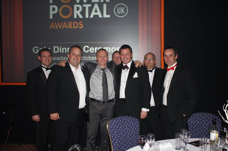 Nick Good of NGPS Ltd, a renewables installation company based in Poole Dorset at the finals night of the Solar power Portal Awards 2012.