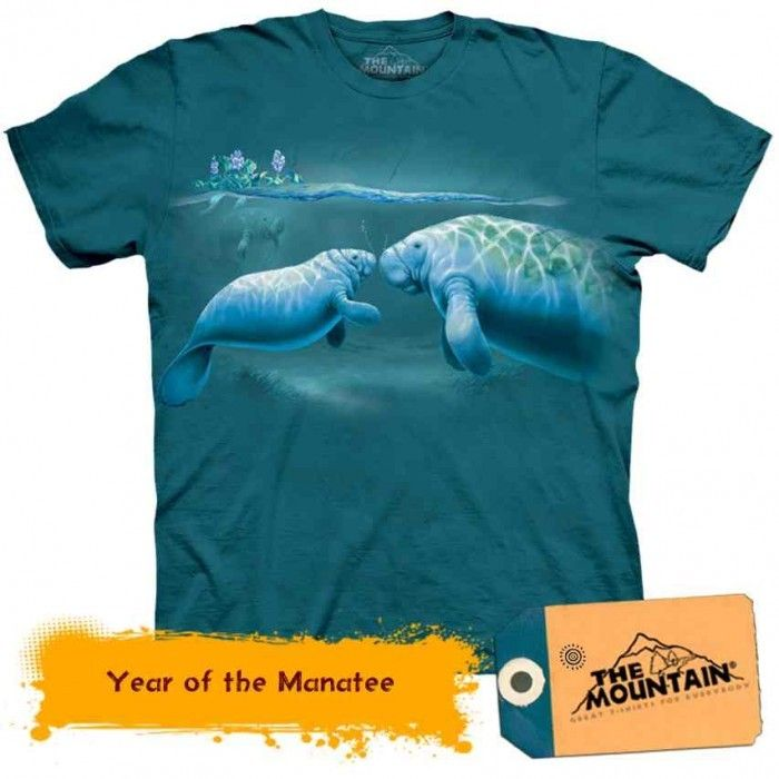 Tricouri The Mountain – Tricou Year of the Manatee