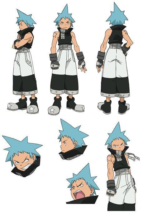 Soul Eater character design: Black Star