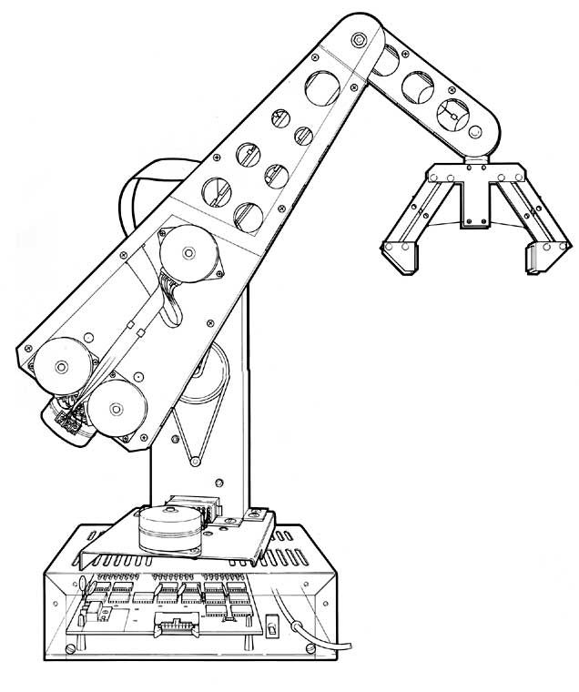 Cyber 310 robot arm
