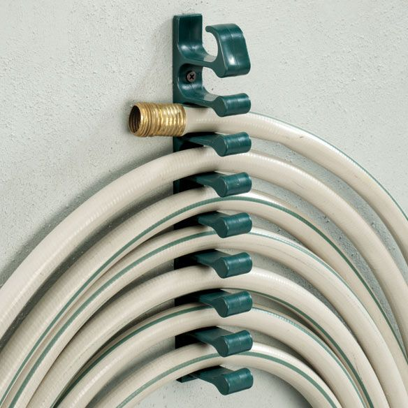 Store your hose neatly while saving space!