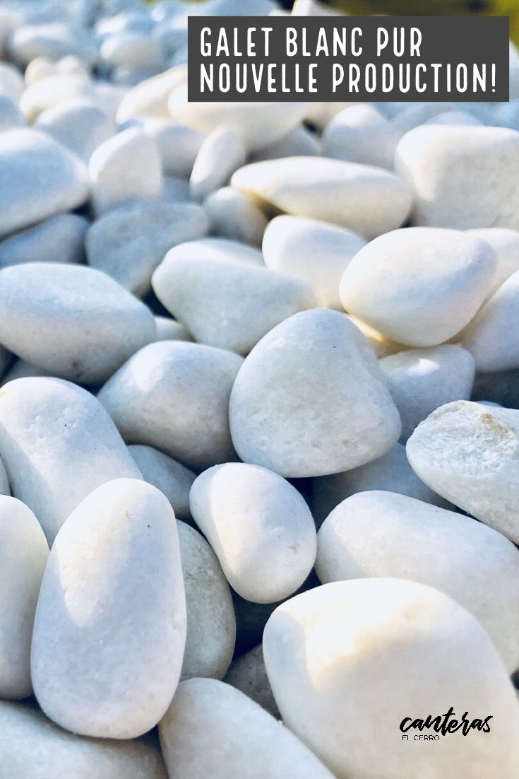 18 Piedra blanca decorativa