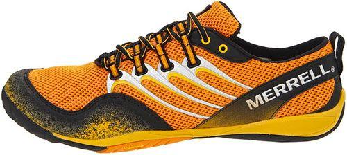 Кроссовки мужские Merrell Trail Glove оранжевые р.46