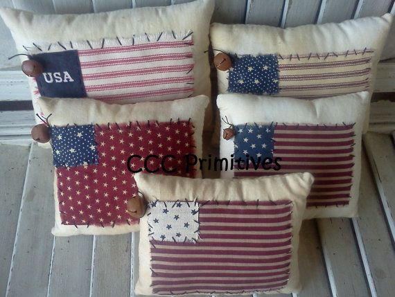 americana handmade usa pillow handmade americana pillow primitive americana decor primitive usa pillow usa pillow home decor - Americana Home Decor