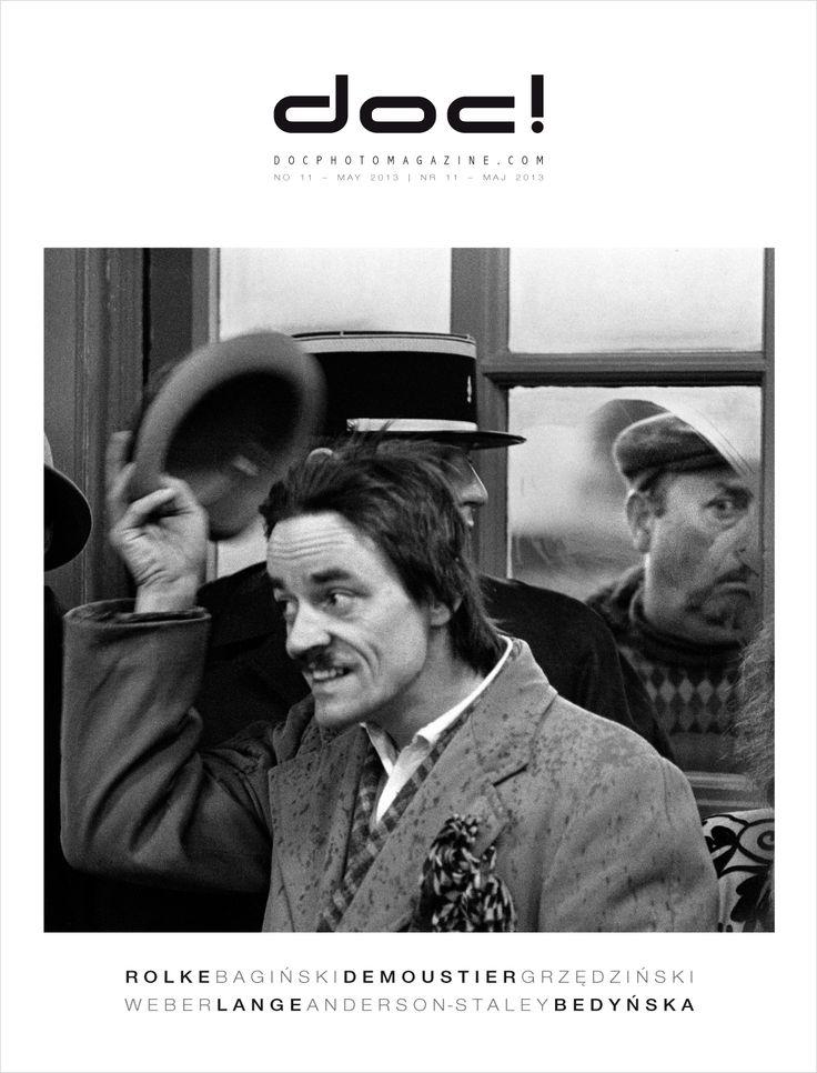 Cover of doc! photo magazine #11 Cover photo: Tadeusz Rolke