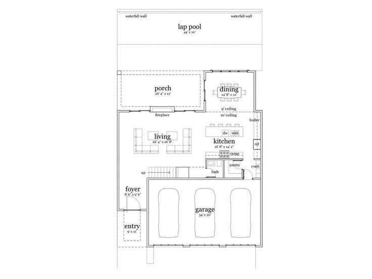 29 best House Plans images on Pinterest Modern houses Modern