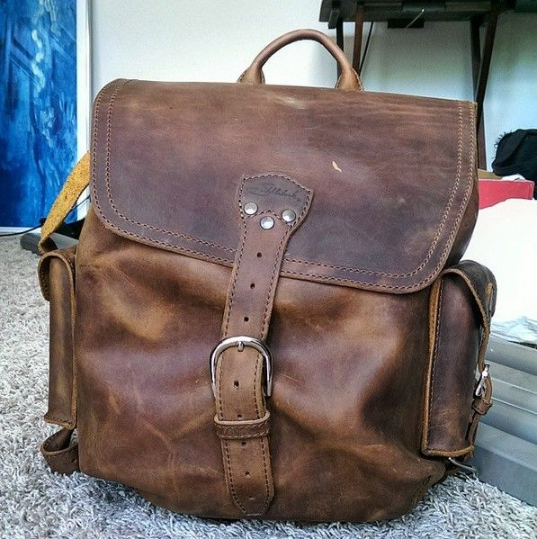 Check out my YouTube Review on the Medium Simple Backpack ... Saddleback Leather