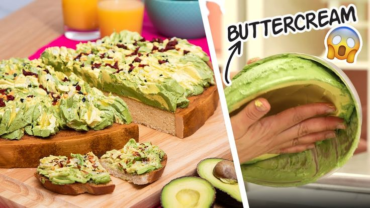 GIANT Avocado Toast... But It's CAKE New Year