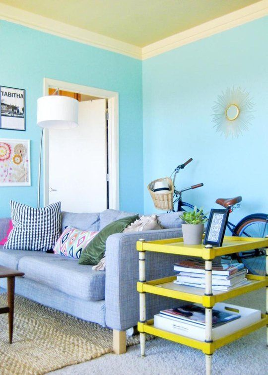 Small Living Room Apartment Therapy: Tabitha's Rare View — Small Cool Contest