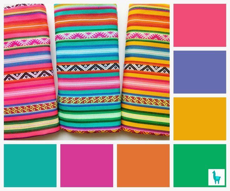 Summer Color Palette Color Palette Bright Mexican Colors
