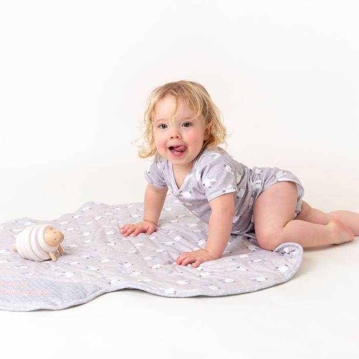 Slumberorganix 100 Organic Cotton Baby Blanket Counting Sheep In 2020 Organic Cotton Baby Blanket Organic Cotton Blanket Organic Cotton Baby