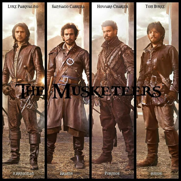 """THE MUSKETEERS (BBC, 1 season, 2014-   ) is a dramatic-historical series created by Adrian Hodges and is based on the novel """"The Three Musketeers"""" by Alexandre Dumas.   The series has had the participation of actors Charles Howard, Luke Pasqualino, Santiago Cabrera and Tom Burke in the lead roles of famous swordsmen.   BBC announced that the series had been renewed for a second season which will premiere in 2015."""